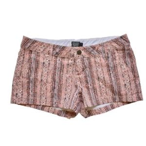 Volcom Aztec Brown Shorts Size 1